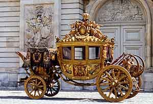 the carriage heading to a safe company place