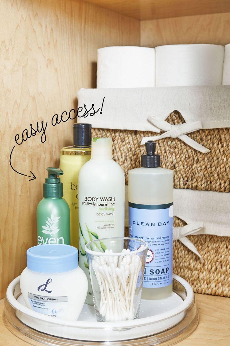 10 Stylish Tricks for a More Organized Bathroom