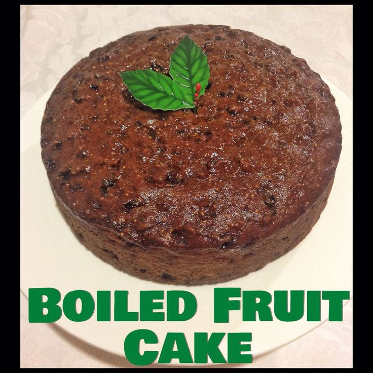 Easy Boiled Fruit Cake Mary Berry