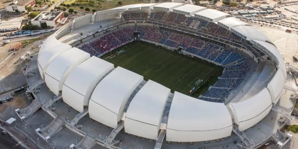 Natal, Arena das Dunas.  New, for the 2014 FIFA World Cup.