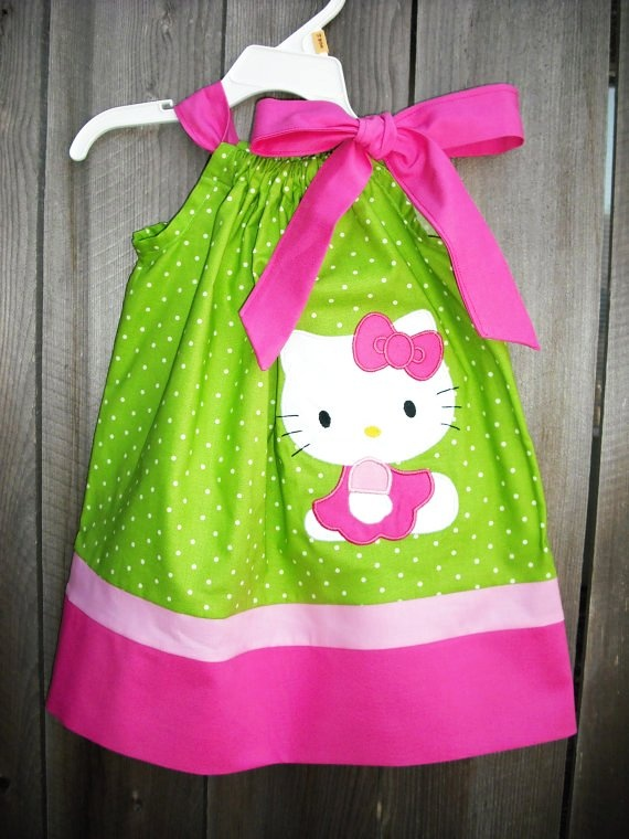 New Hello Kitty pillowcase Dress