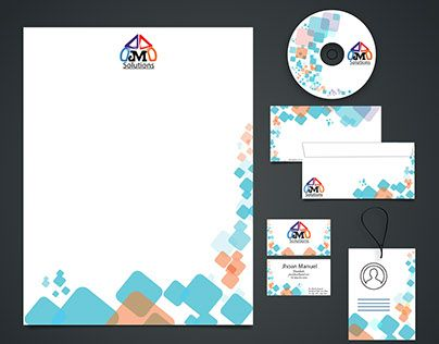 """Check out new work on my @Behance portfolio: """"JM SOLUTIONS - Papelería Corporativa"""" http://be.net/gallery/34251745/JM-SOLUTIONS-Papeleria-Corporativa"""