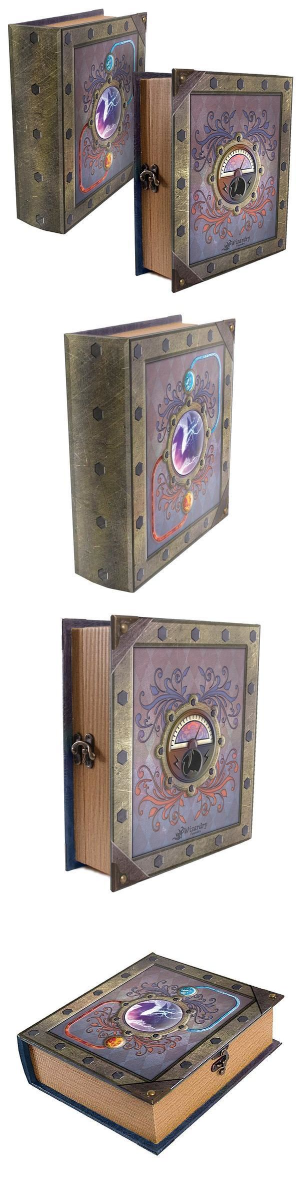 CCG Deck Boxes 183462: Reaction Deck Box Spellbook Wooden Fabric Lined For Magic Tcg Mtg Yugioh -> BUY IT NOW ONLY: $77.94 on eBay!