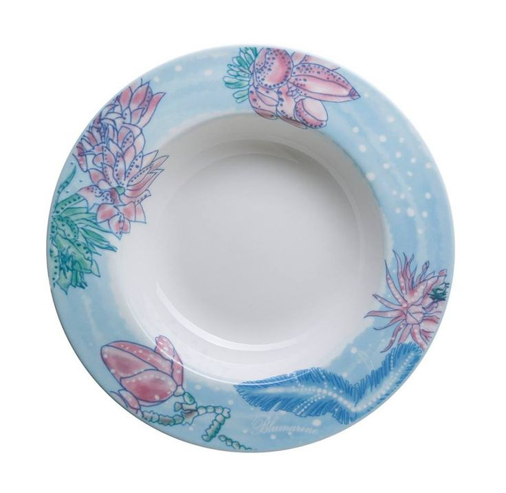 """Ocean Blue"" - Blumarine Home Collection 