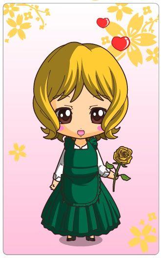 Madellaine - Rose - Chibi Maker http://www.dolldivine.com/chibi-maker.php