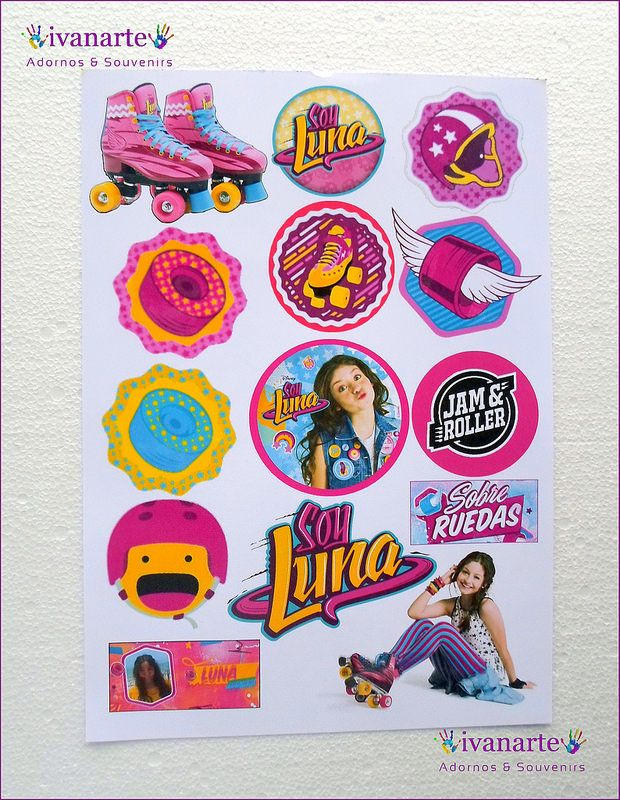 Soy Luna Pulsera Souvenir De Raso Full Color X 10 / Floresta - $ 75,00 en Mercado Libre