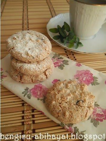 ab-ı hayat: Çikolatalı unsuz kurabiye & Hindistancevizli coco kurabiye