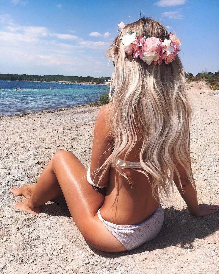 Long Beach Hair Blonde Youjiz 1