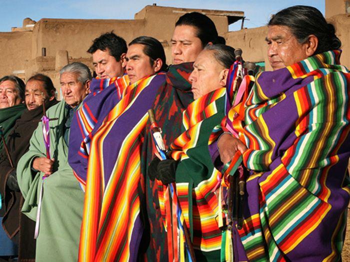 Taos Pueblo council.