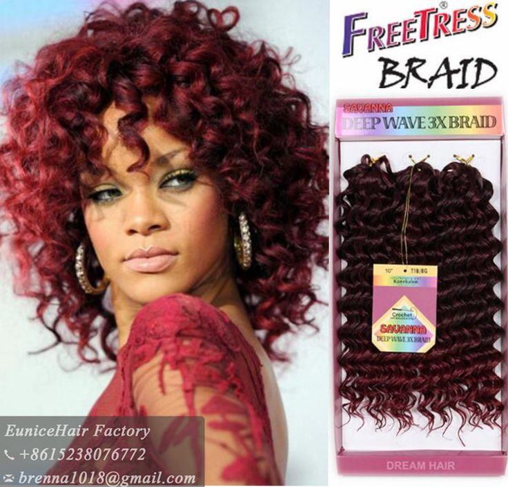 crochet braid freetress braid deep twist synthetic hair crochet braids ...