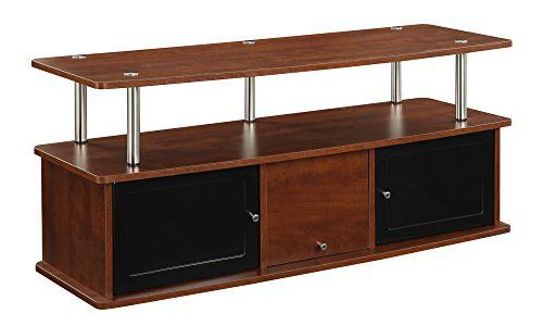 """Modern styling is the essence of the designs2go TV stand with 3 cabinets, style 151202ch. Easy and simple set up. Video Auto Profits - Easiest Way To Generate Monthly income """"Video Auto Profits"""" by Josh Ratta and Todd Gross shows how to break-into the lucrative site """"Udemy"""" + another """"secret... more details available at https://furniture.bestselleroutlets.com/game-recreation-room-furniture/tv-media-furniture/television-stands-entertainment-centers/product-review-for-convenien"""