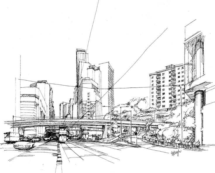 Best Sketch Images On Pinterest Architectural Sketches