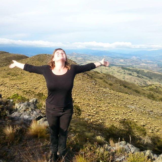Páramo Manzano 3470 m. Boyacá, Colombia