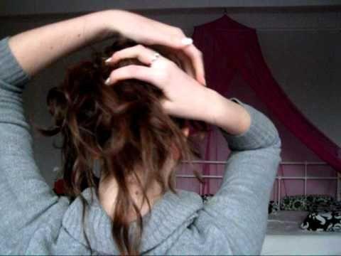 GO GLAM SERIE » Messy Hair Updo ~ Lang & Halflang haar - YouTube