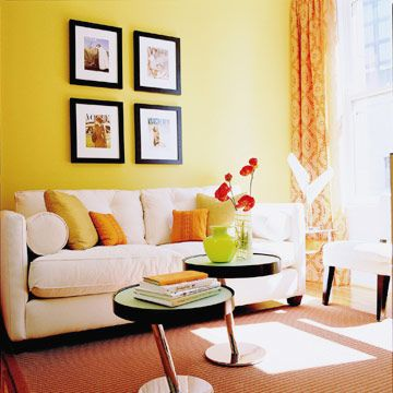 25+ best Yellow accent walls ideas on Pinterest Gray yellow - yellow living room walls