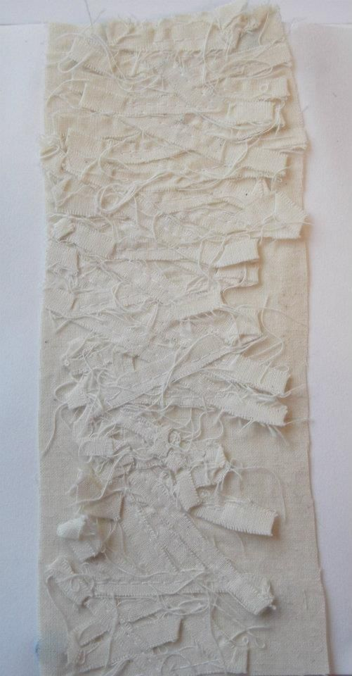 Fabric Manipulation. creating textiles from textiles.