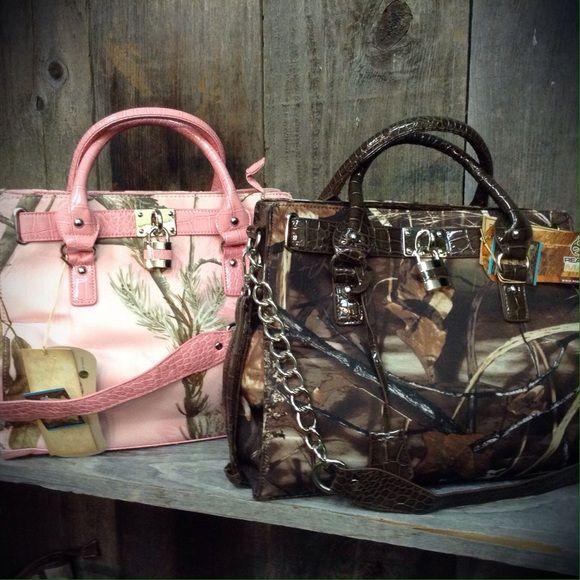 RealTree pink camo bag RealTree pink camo bag Bags