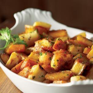 Maple-Glazed Autumn Vegetables