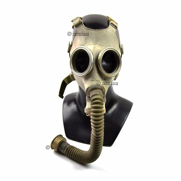 Soviet russian Gas mask PDF-7. Mask + hose. New.  | Collectibles, Militaria, Surplus | eBay!