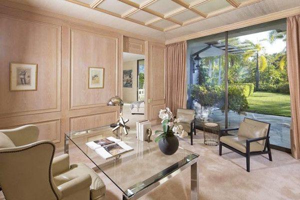 The Home Office - Adam Levine & Behati Prinsloo's New $18 Million L.A. Estate - Photos