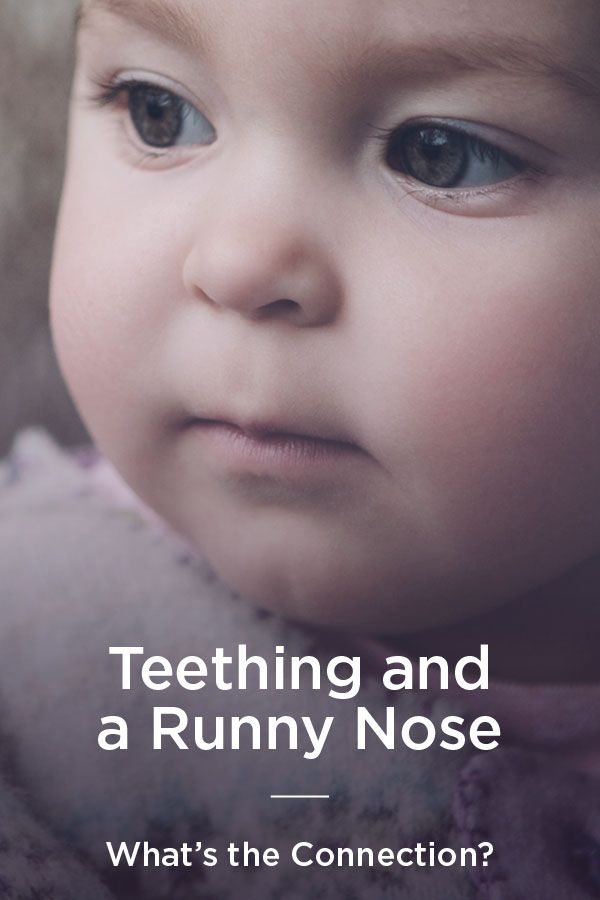 Teething and Runny Nose: Is This Normal?