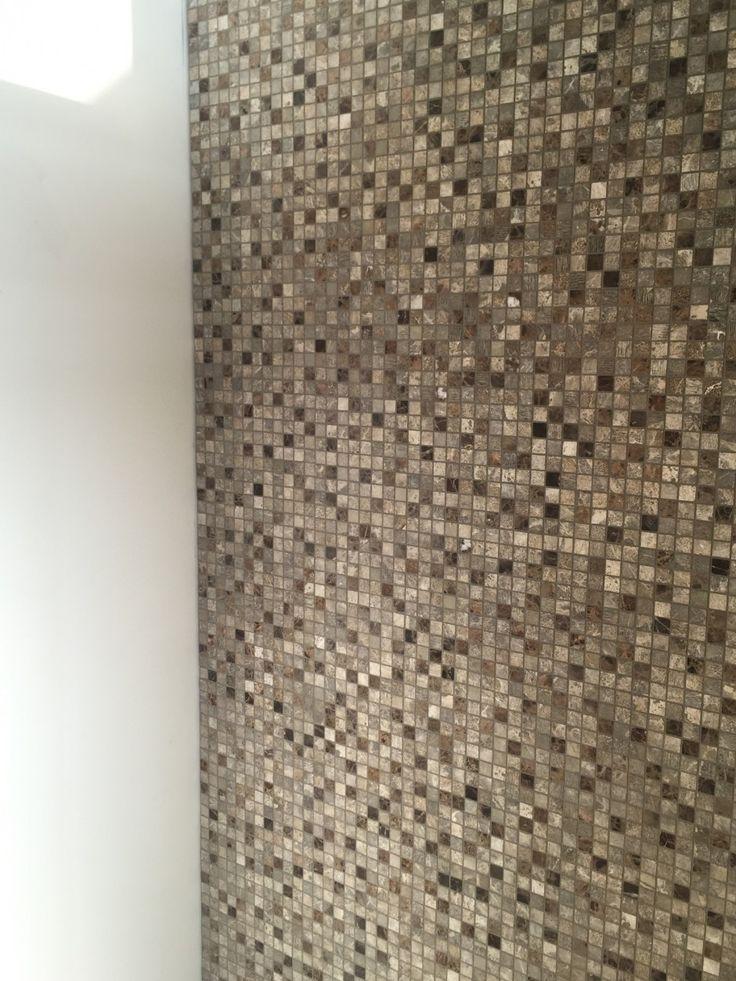 Natuursteen mozaieken - vloer-wand - badkamer - Wonen.nl