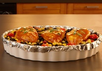 30 meals, in 30 minutes.. Thanks to Reynolds Wrap.. and I assume you could use any kind of foil.: 30 Minute Meals, Southwest Chicken, Black Beans, Maine Dishes, Foil Dinners, Food, Southwest Chipotle, Chicken Allrecipescom, Chipotle Chicken Recipes