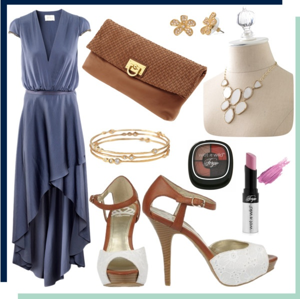 Who doesn't love a look that can be worn a variety of ways & restyled with ease? With a simple change of accessories, this satin dress can easily be worn a multitude of ways especially with the Fergalicious by Fergie ELEGANT sandals from Famous Footwear. Put a fashionable spin on your look for a coffee date, shopping with the girls, or even to a spring wedding…