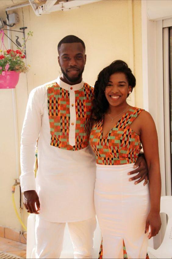 Ankara Styles for Couples 2018
