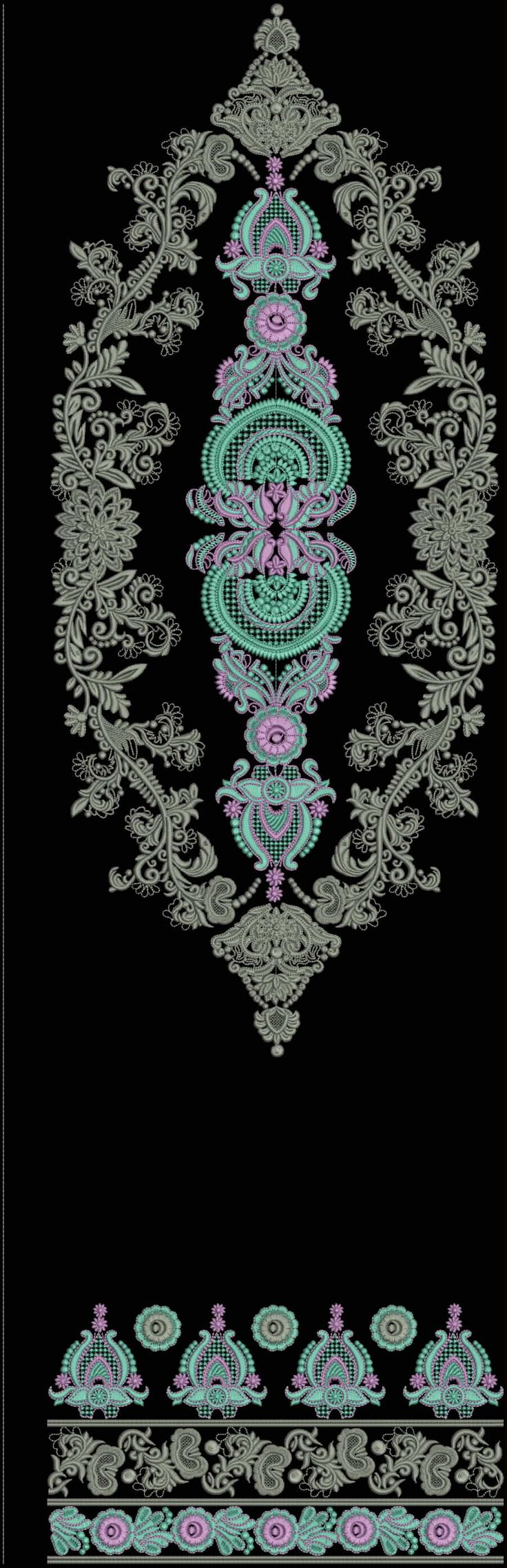 Latest Embroidery Designs For Sale, If U Want Embroidery Designs Plz Contact (Khalid Mahmood, +92-300-9406667) www.embroiderydesignss.blogspot.com Design# Sonas2-B