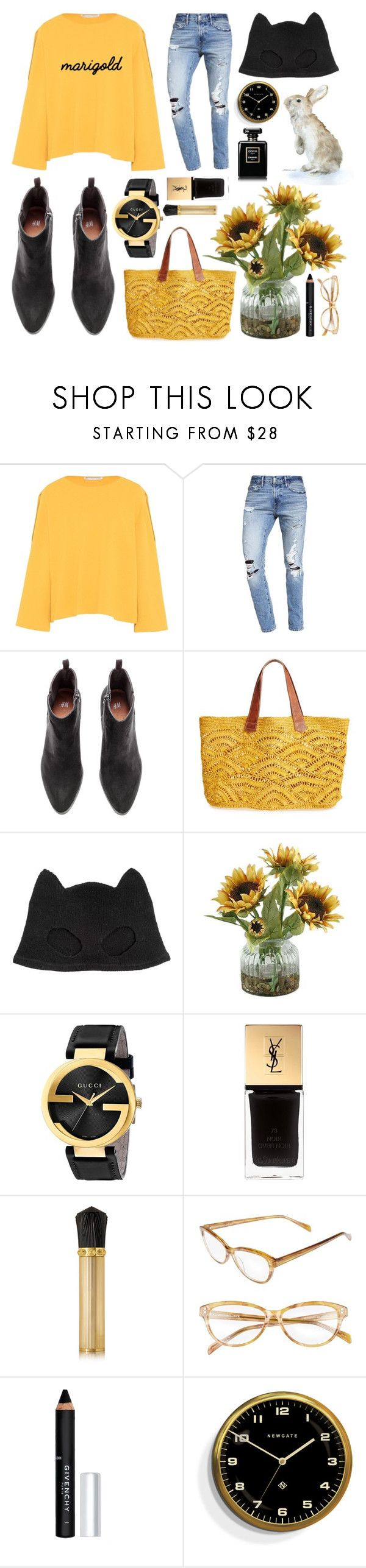 """""""Chava"""" by goingdigi on Polyvore featuring STELLA McCARTNEY, Abercrombie & Fitch, Mar y Sol, Silver Spoon Attire, Home Decorators Collection, Gucci, Yves Saint Laurent, Christian Louboutin, Corinne McCormack and Givenchy"""