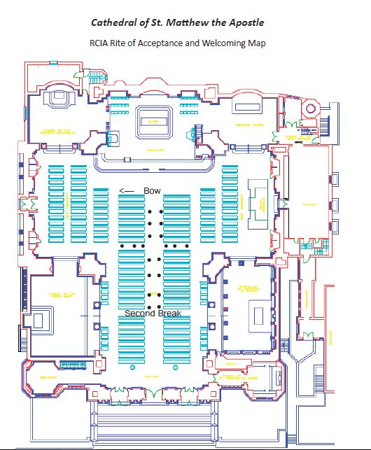 Church Layout - Ignore text