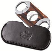 Ebony wood cigar cutter by Brizard