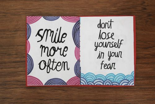 quote pages: Thoughts Pin, Remember, Color, Notebooks Quotes, Things, Smile, Living, Fear, Precious Life