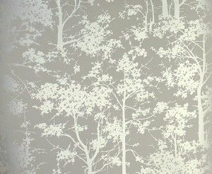 silver contemporary mandara wallpaper - Wall Paper Designers