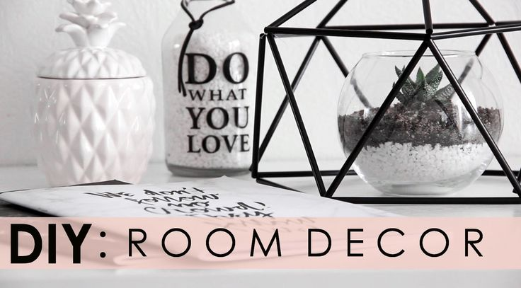DIY бюджетный декор для дома l TUMBLR ROOM DECOR 2016