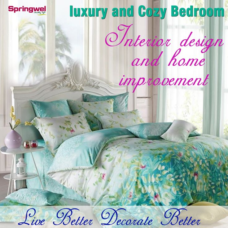 Affordable Ways to Make Your Bedroom Look Like A Luxurious and Cozy #Bedroom #InteriorDesign #HomeImprovement
