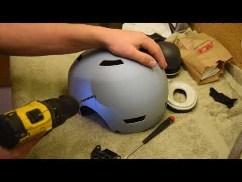 How to Build a Paramotor Comm Helmet - Tutorial - YouTube