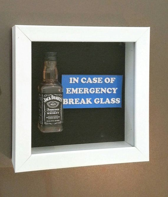 Jack Daniel's Whiskey - In Case of Emergency by DaisyChainOnline