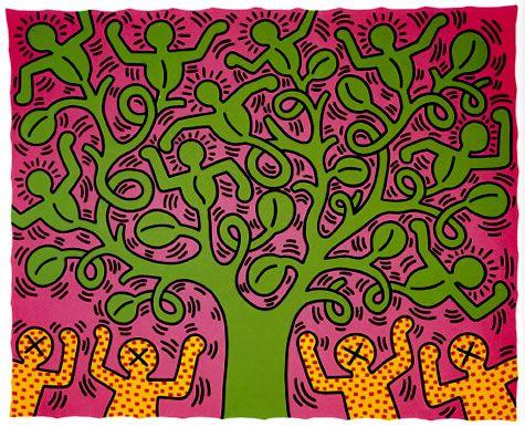 Tree of Life, Keith Haring, 1985