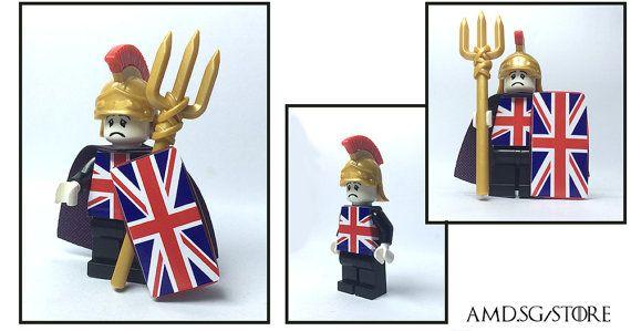 Custom Lego Minifigure Peter Gabriel with Genesis by LegoMiniFigs