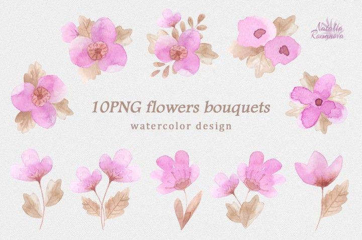 Flower fuchsia By Natali_art