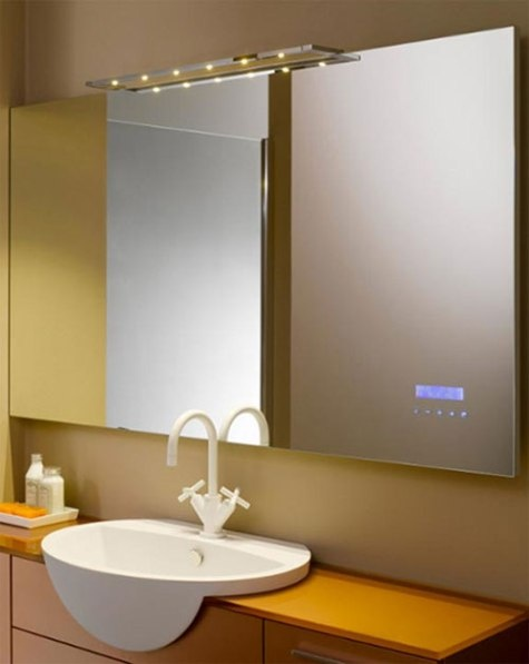 Sweet Interior Ideas Playing Mp Just Touch Bathroom Mirror