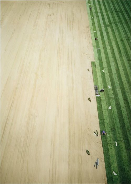 Arena III / by Andreas Gursky, 2003