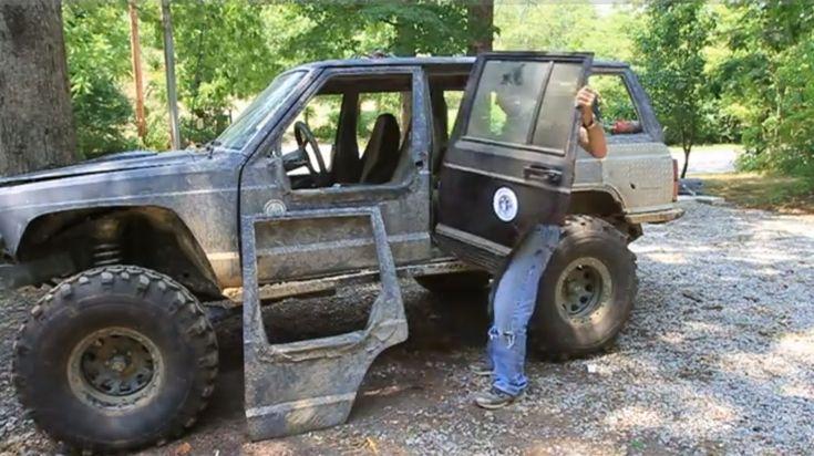How To Make Removable Half Doors Jeep Cherokee Part 1 Jeep Cherokee Parts Jeep Xj Jeep Doors