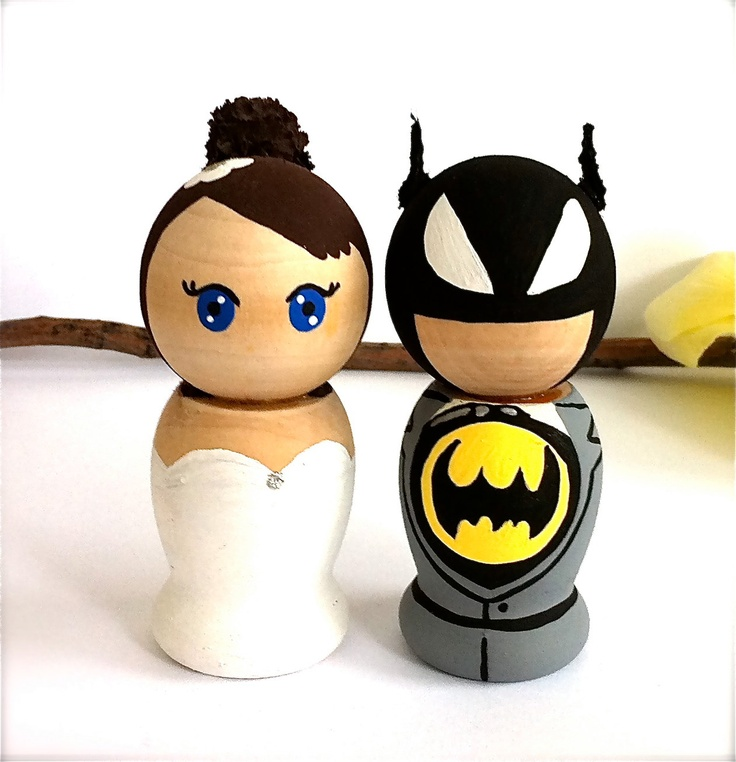 superhero wedding cake topper 160 best images about peg characters on wooden 7844