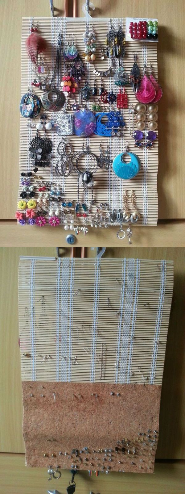Made This Earringanizer For A Friend Sometimes Ago All Materials Are  From Daiso;