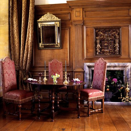 interior architecture 17th century france | ... oak room designed in the  elegant style