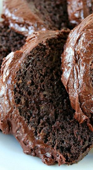 Chocolate Lover's Zucchini Cake- Ths is a perfect date night dessert or a stay at home Valentine's Day dinner sweet!