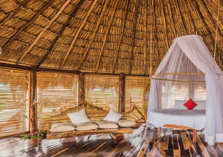 Azulik Tulum, Mexico building man made object yurt roof log cabin hut cottage home farmhouse outdoor structure barn